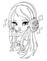 Headphones by JadeDragonne