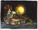 Dark Tales- the little mermaid - colored by JadeDragonne