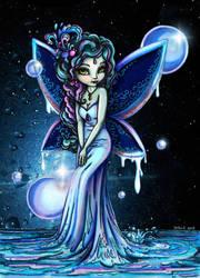 Water Fairy - Colored by JadeDragonne