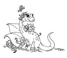 Little Miss Dino by JadeDragonne