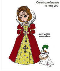 Elisabethan Princess - Reference by JadeDragonne