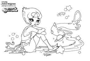 Pearl - Lineart by JadeDragonne