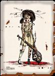 Beating up demons - Colored by JadeDragonne