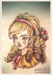 Circus doll by JadeDragonne