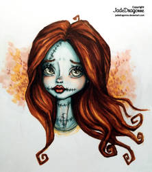Sally - Colored by JadeDragonne