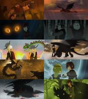 HTTYD 2D screenshots sequel by Detkef