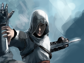 Altair speedpaint by Detkef