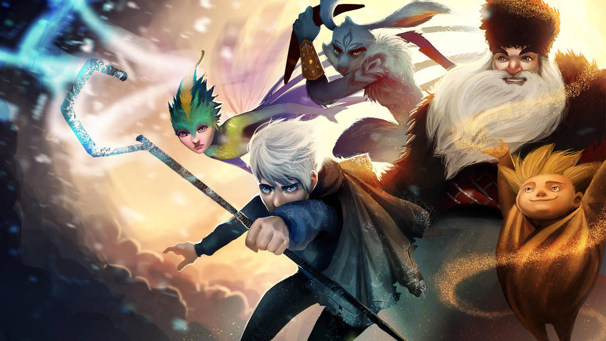 Rise of the Guardians by Detkef