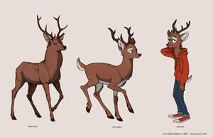 teen deer style challenge by Detkef