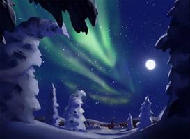 quiet night by Detkef