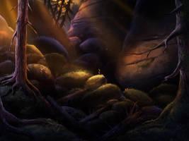 Dark forest by Detkef