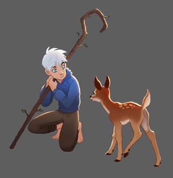 Jack's new friend by Detkef