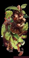 DnD: Leaf Shield by AnthonyFoti