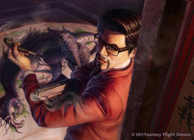 CoC: Inspector Li Flint by AnthonyFoti