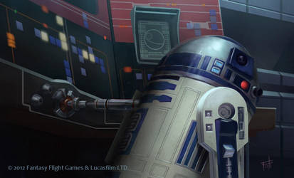 Star Wars: TCG - R2-D2 by AnthonyFoti