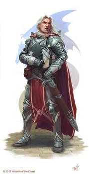 DnD: Captain Havarr, Knight of Bahamut by AnthonyFoti