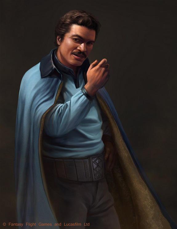Star Wars: Edge of the Empire - Lando Calrissian by AnthonyFoti
