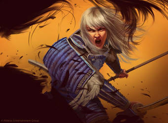 L5R: Doji Hoturi by AnthonyFoti
