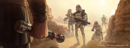 Star Wars: TCG - Self Preservation by AnthonyFoti