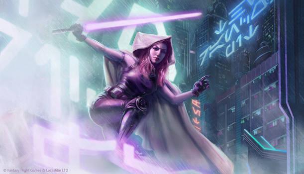 Star Wars: TCG - Mara Jade by AnthonyFoti