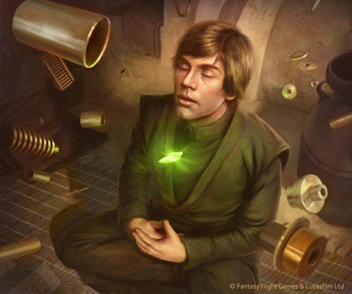 Star Wars: TCG - The Force is Strong by AnthonyFoti