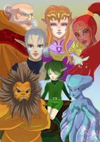 7 sages by Link-artist