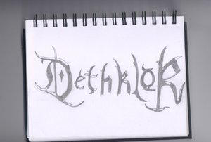 dethklok logo by metalocalypse