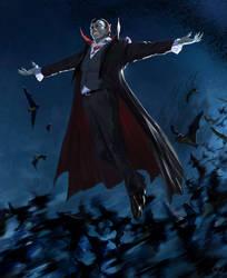 Happy Halloween from Draculia!!!:) by MaximeChiasson