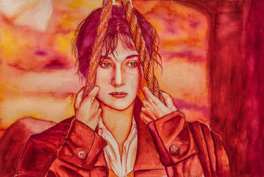Elizabeth Bennet_ Warm Colors by massamitsu