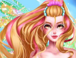 +Nymph of Sirenix Daphne - Fan Art+ by MYKProject