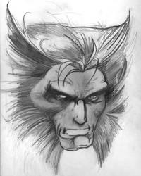 Wolverine by milphog