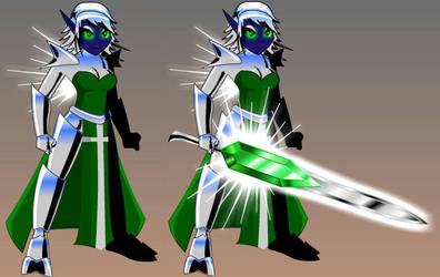 AQW: Radiant Elf-Radiant Sword by Rizzna