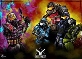 Noble Team by RedGrimRune
