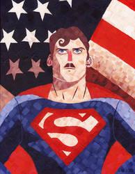 TheyForgotToShave - Superman by Black85