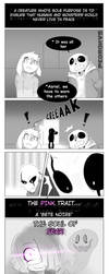 Glitchtale 'a Bete Noire' by Pedrokys000