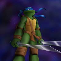 TMNT: Leonardo by Zuleora