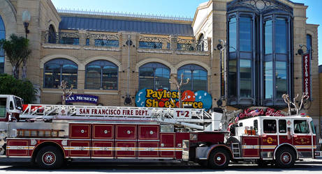 SF Fire Department by cactusmumkate