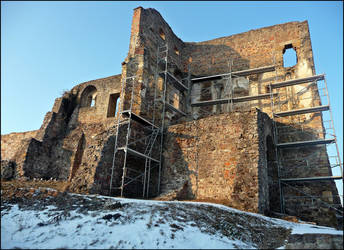 Castle Ruin Series 18 by cactusmumkate