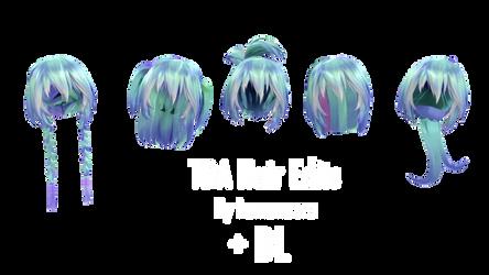 TDA Hair Edits + DL by Lumanaera