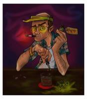 Mr Hunter S Thompson by kiska242