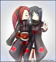 kira and tobari .:Friends:. by AoiTorix