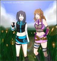 :At: Jeshika and tori :D by AoiTorix