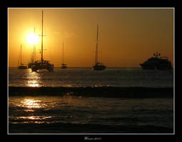Formentera sunset by W-i-nn-e-R