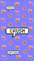 Fondo Crush|TELEFONO by PrincessDesigns