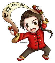 Happy Chinese New Year 2011 by xraiko
