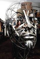 Jessy Inside Head Sculpture by livesteel