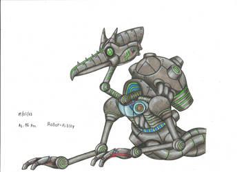 Robot Ridley by stefano-roca