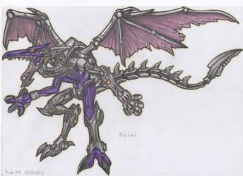 Metal Ridley 2 (color) by stefano-roca