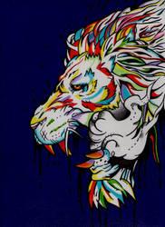 Dibujo Leon by stefano-roca
