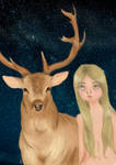 Girl who felt in love with a buck by iwannakissallama
